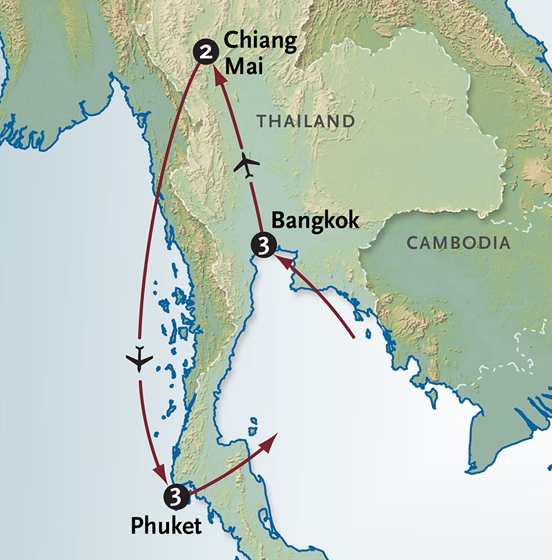 Best Travel Itinerary For Thailand