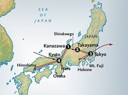 Japan Inland Sea Map