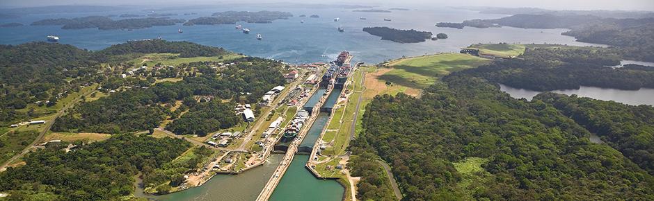 Panama canal escorted tours