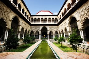 Real Alcazar, Seville, Spain