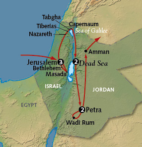 Discover Israel and Jordan