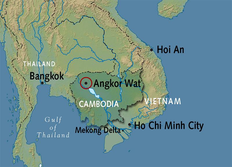 Angkor Wat Tour   Siem Reap Tours on