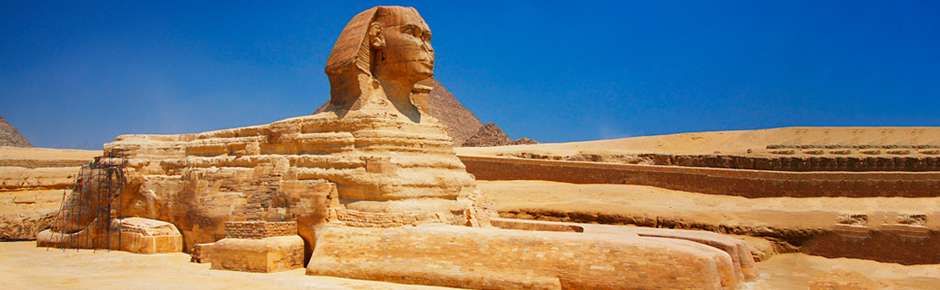 Sphinx and Nile River Photos