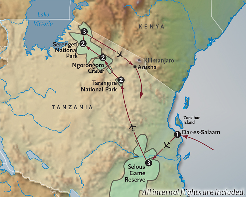 Tanzania Safari Visions Of Tanzania