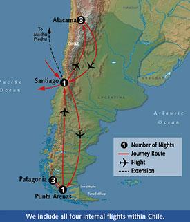 Small Group Tours to Patagonia and Atacama Desert