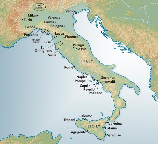 Italy Custom Travel