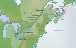 St. Lawrence Seaway Map