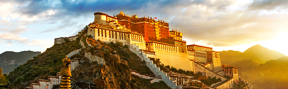 Historical China, Tibet plus the Yangtze