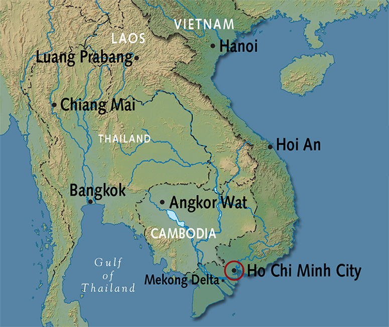 Ho Chi Minh Vietnam Map.Ho Chi Minh City Tours Saigon Travel Alexander And Roberts