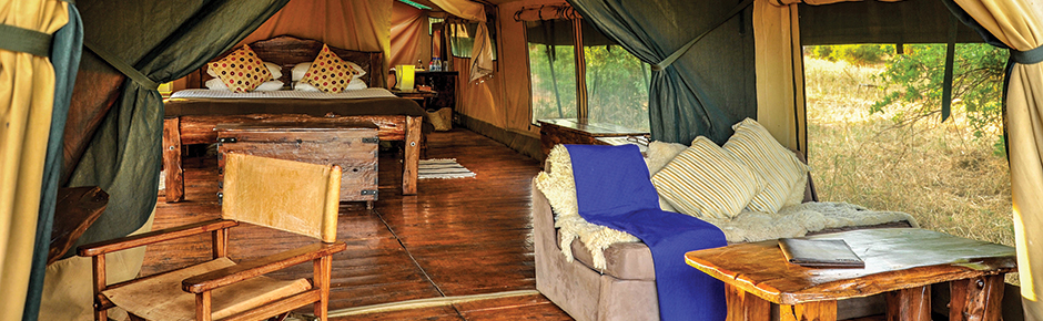 Luxury Tenting Serengeti Safari